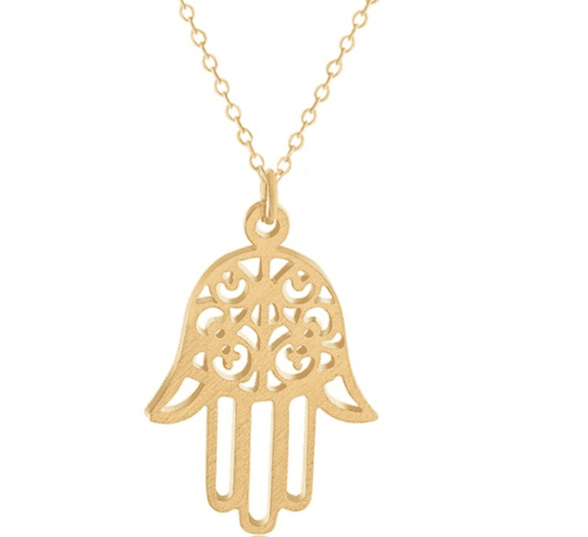 The Protective Hamsa Necklace - TSH Jewelry
