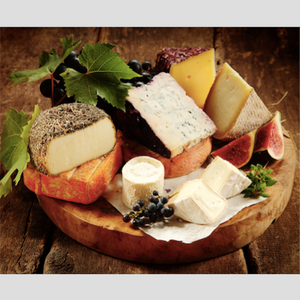 The classic Cheese platter - Large portions (~1 kilo cheese in total)