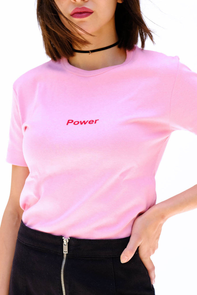 Pink Power Tshirt