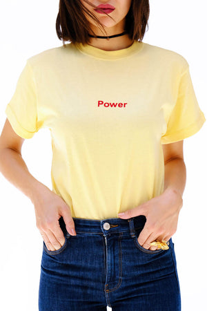 Yellow Power Tshirt