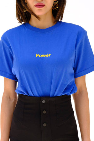 Blue Power Tshirt