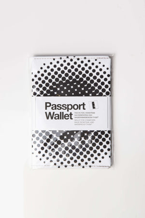 Passport Wallet Black & White