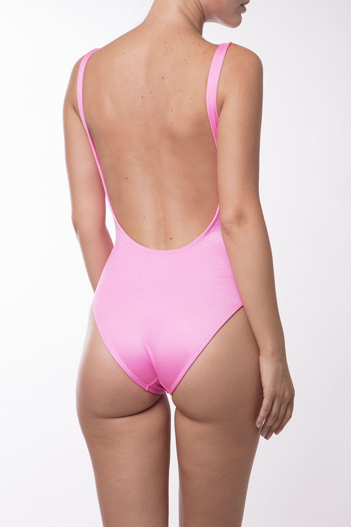 Pink swimming suit