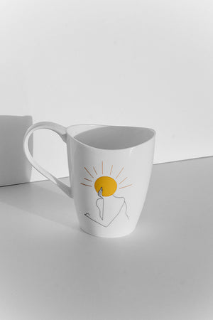 """She Sparkles Like Sunshine"" Mug"