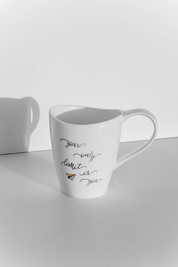 """Your Only Limit Is You"" Mug"