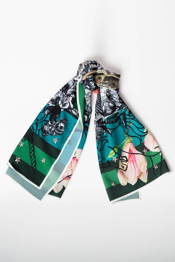 THE BUTTERFLY SCARF