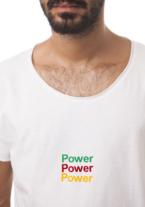 Round Neck Triple Power