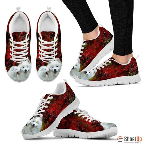 White Husky-Dog Shoes For Women-Free Shipping
