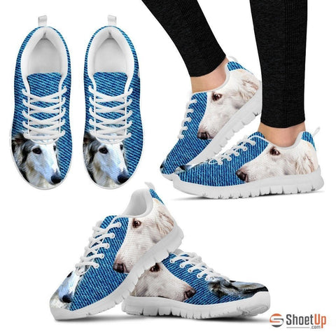 Borzoi-Dog Running Shoes For Women-Free Shipping