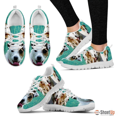 Parson Russell Terrier-Dog Shoes For Women-Free Shipping
