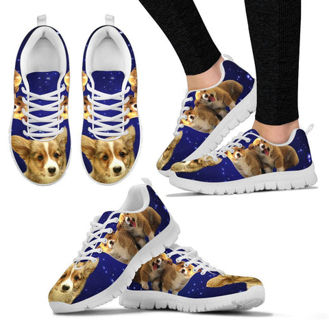 Corgi Dog-Running Shoes For Women-Free Shipping