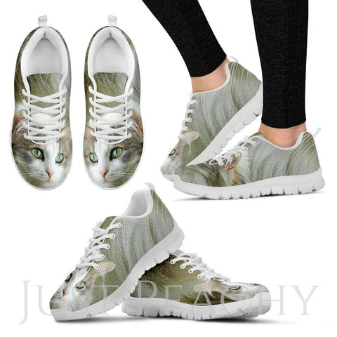 Ragamuffin Cat Print Running Shoes For Women-Free Shipping