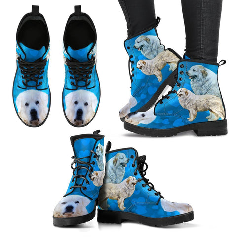 Valentine's Day Special-Great Pyrenees Dog Print Boots For Women- Free Shipping