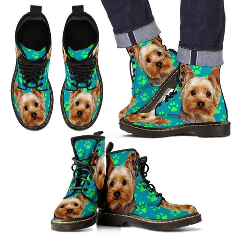 Yorkshire Print Boots For Men-Limited Edition-Express Shipping