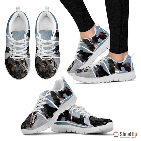 Labrador print Sneakers For Women-Free Shipping