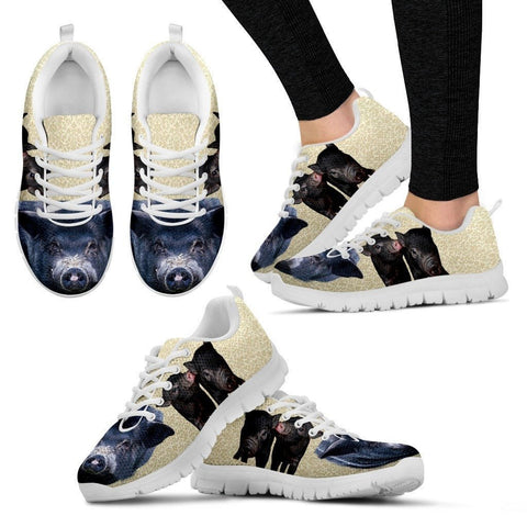 Black Pig Running Shoes For Women-Free Shipping