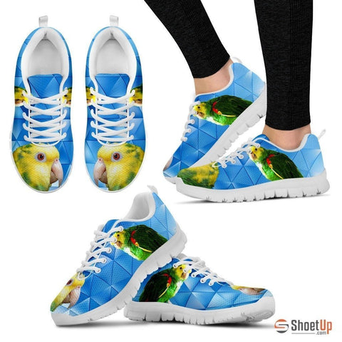 Amazon Yellow Headed Parrot Running Shoes For Women-Free Shipping