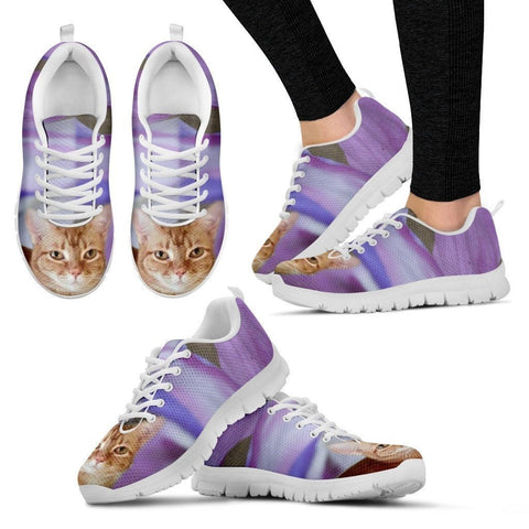 Denise Paine/Cat-Running Shoes For Women-3D Print-Free Shipping