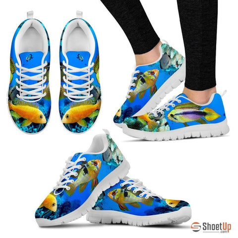 Dwarf Cichlid Fishes-Running Shoes For Women-Free Shipping
