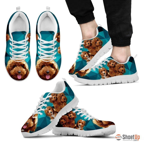 Lovely Poodle-Dog Running Shoe For Men-Free Shipping