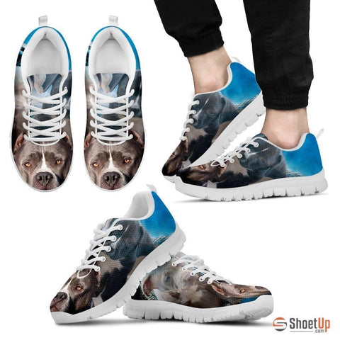 Pit Bull Dog Print Running Shoe (Women/Men)- Free Shipping