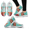 Limousin Cattle Cow Christmas Running Shoes For Women- Free Shipping