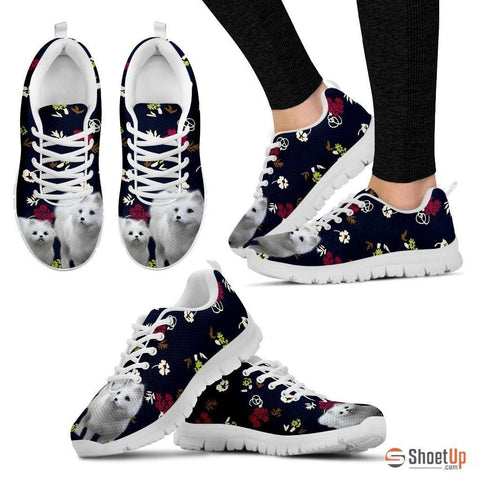 Samoyed Dog Running Shoes For Women-Free Shipping
