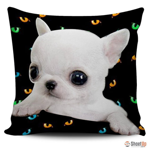 Chihuahua Dog-Pillow Cover-3D Print-Free Shipping