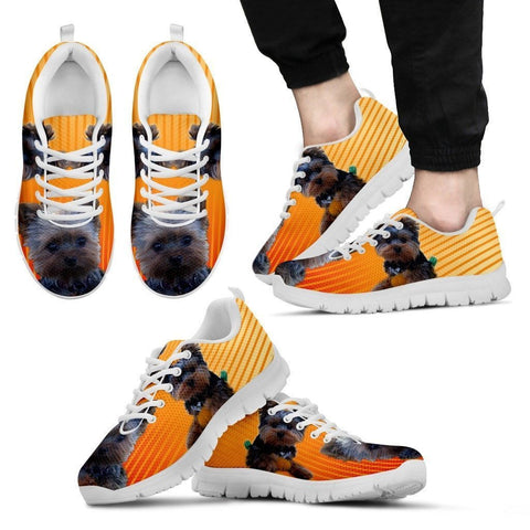 Blue Eyes Yorkshire Dog Running Shoes For Men-Free Shipping