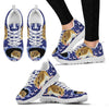 Chinese Hamster Print Christmas Running Shoes For Women- Free Shipping