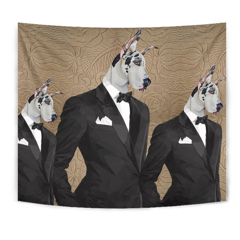 Amazing Great Dane Print Tapestry-Free Shipping