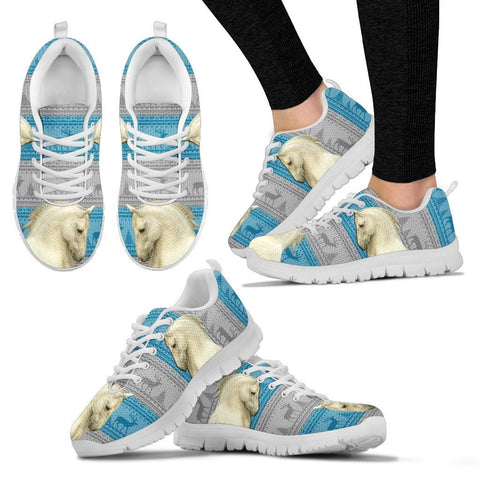 Lipizzan Print Christmas Running Shoes For Women-Free Shipping