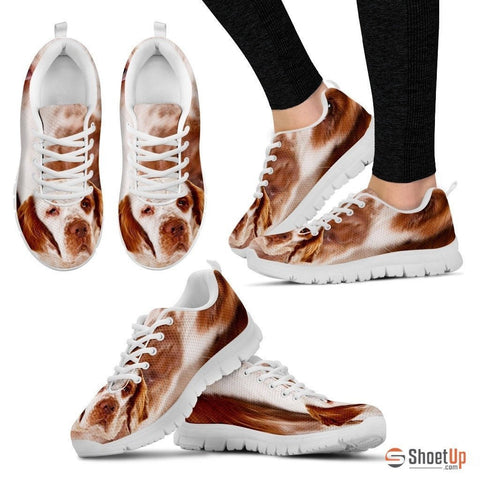 Clumber Spaniel-Dog Running Shoes For Women-Free Shipping