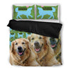 Amazing Golden Retriever Bedding Set- Free Shipping