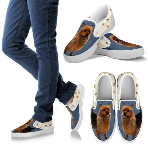 Australian Terrier Print Slip Ons For Women-Express Shipping