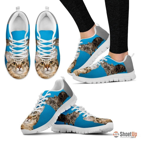 Cute American Bobtail 3D Print Running Shoe For Women- Free Shipping