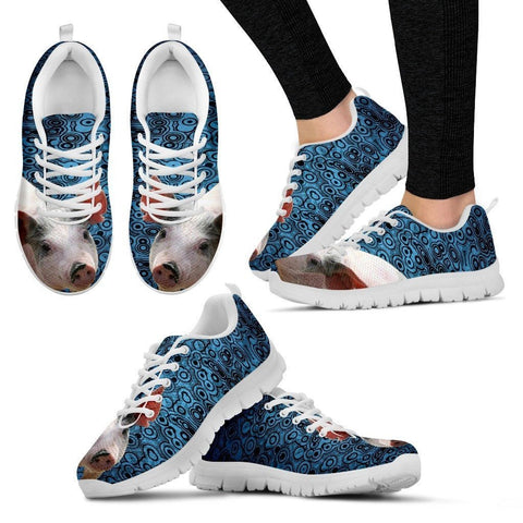 Blue Pig Running Shoes For Women-Free Shipping