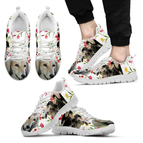 Saluki Dog Running Shoes For Men-Free Shipping