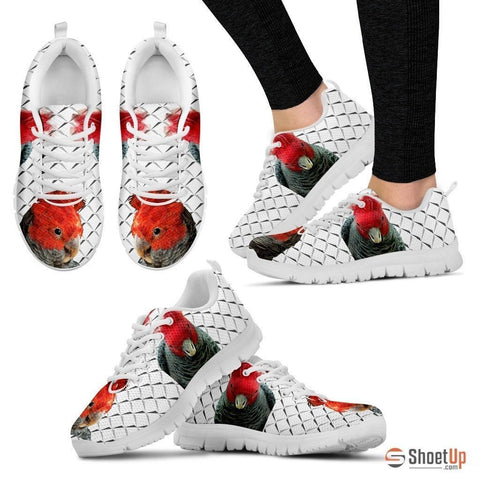 Gang-Gang Cokatoo White Running Shoes For Women-Free Shipping