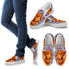 Valentine's Day Special-Nova Scotia Duck Tolling Retriever Print Slip Ons For Women- Free Shipping