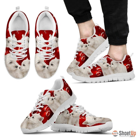 West Highland White Terrier-Dog Running Shoes For Men-Free Shipping Limited Edition