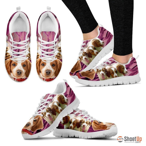 Brittany-Dog Running Shoes For Women-Free Shipping