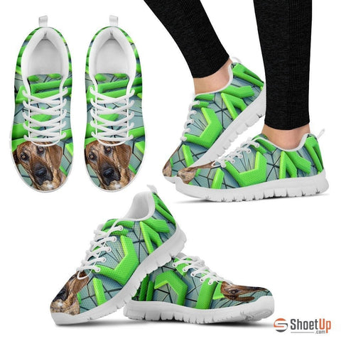 Plott Hound Dog Running Shoes For Women-Free Shipping
