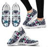 Cute Chihuahua Print Christmas Running Shoes For Women-Free Shipping