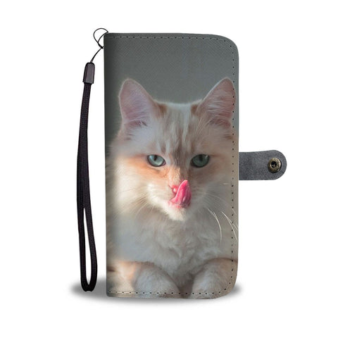 Cute Birman Cat Print Wallet Case-Free Shipping