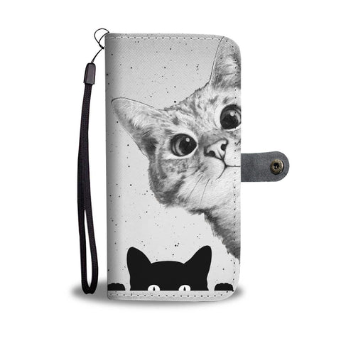 Cutest Cats Print Wallet Case-Free Shipping