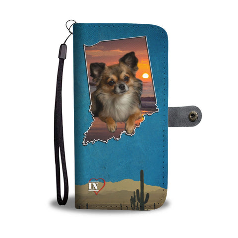 Chihuahua Print Wallet Case-Free Shipping-IN State