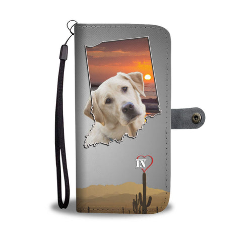 Labrador Retriever Print Wallet Case- Free Shipping-IN State