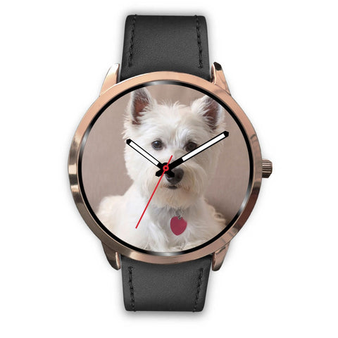Cute Westie Print Wrist Watch - Free Shipping