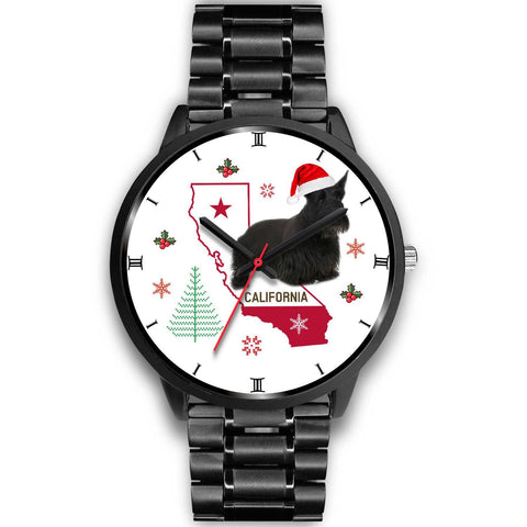 Scottish Terrier California Christmas Special Wrist Watch-Free Shipping